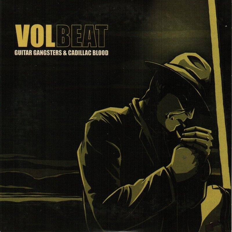 Volbeat - Gangsters Guitar & Cadillac Blood - Vinyl / LP