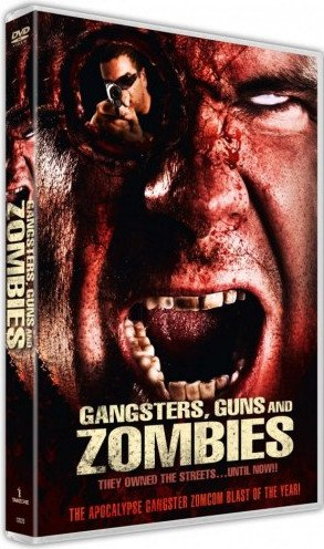 Image of   Gangsters Guns And Zombies - DVD - Film