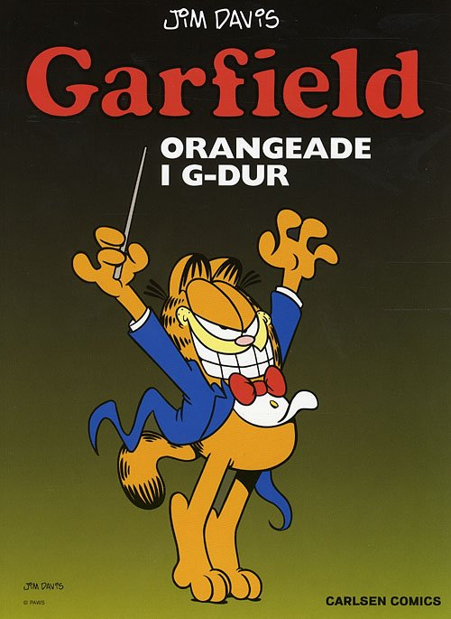 Image of   Garfield 23: Orangeade I G-dur - Jim Davis - Tegneserie