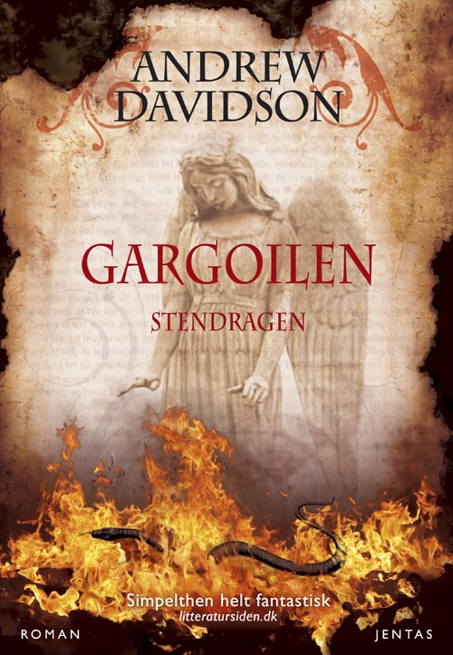 Image of   Gargoilen, Mp3 - Andrew Davidson - Cd Lydbog