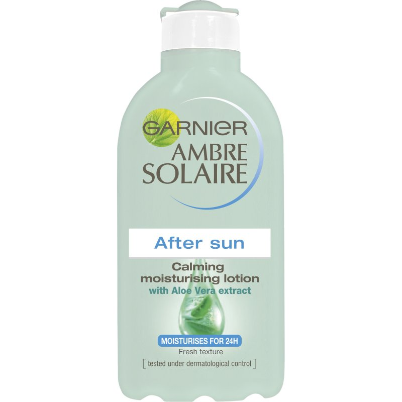 Garnier Ambre Solaire After Sun Aloe Vera Gel - 200 Ml.