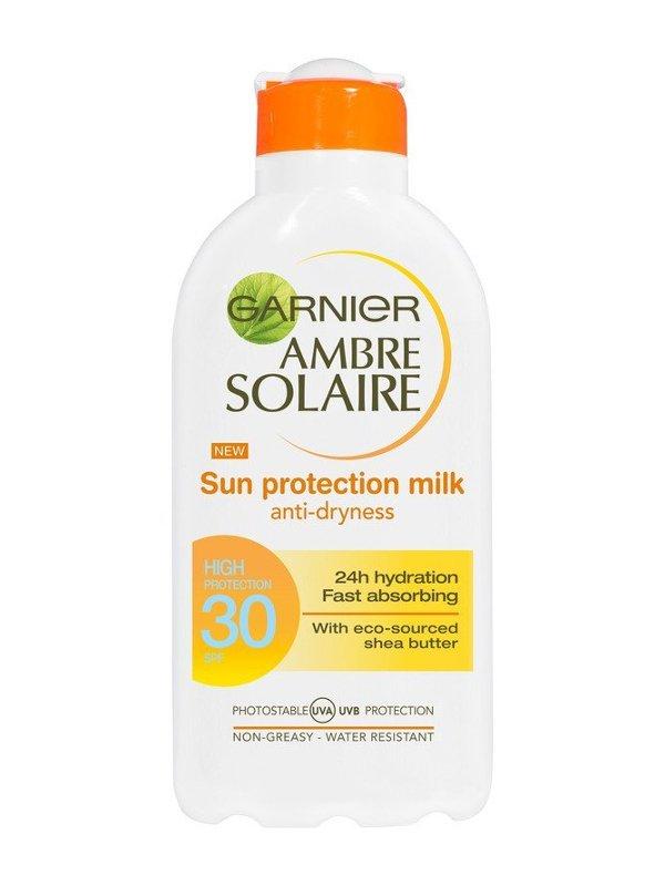 Image of   Garnier Ambre Solaire Sun Protection Milk Spf 30 - 200 Ml.