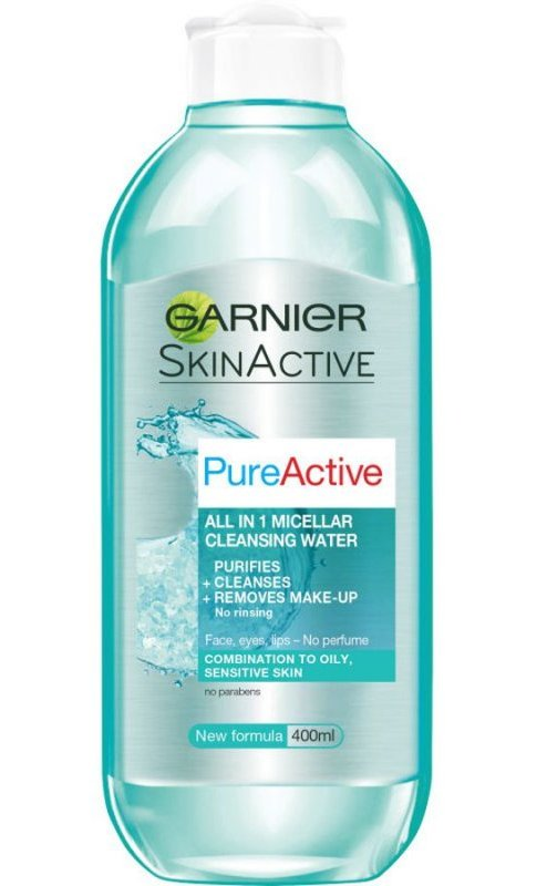 Garnier - Pure Active Micellar Water 400 Ml