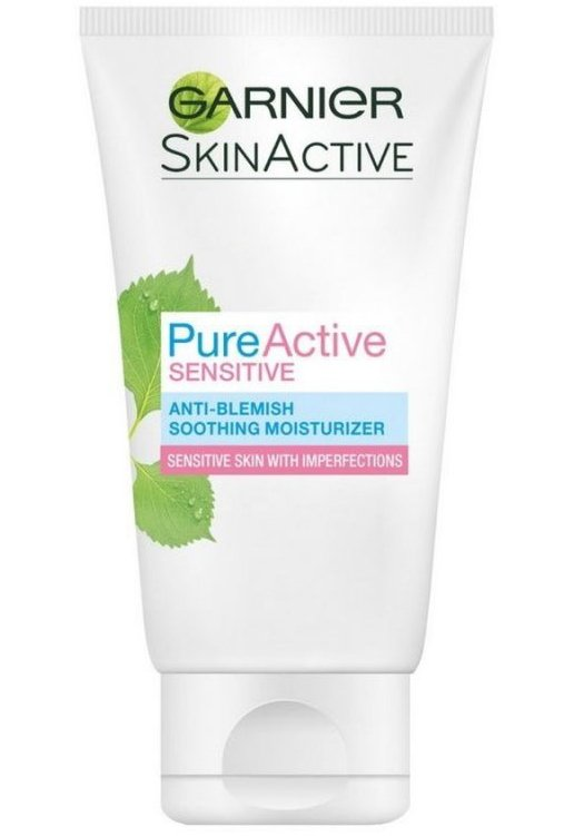 Garnier - Pure Active Sensitive Care Dagcreme 50 Ml