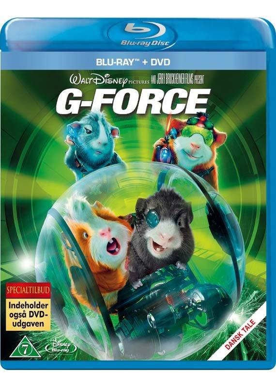 Image of   G-force - Disney (blu-ray+dvd) - Blu-Ray