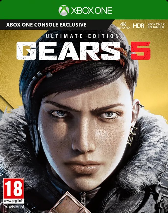Image of   Gears 5 - Ultimate Editon Nordic - Xbox One