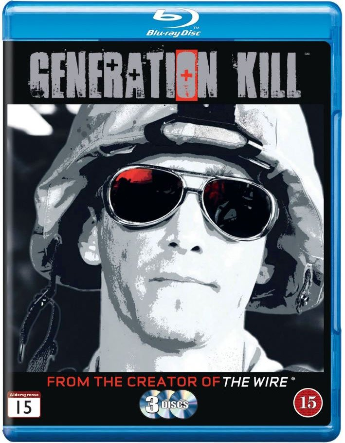 Image of   Generation Kill - Hbo - Blu-Ray - Tv-serie