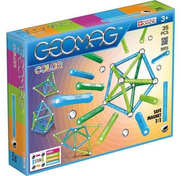 Image of   Geomag Color Magnet Legetøj - 35 Dele