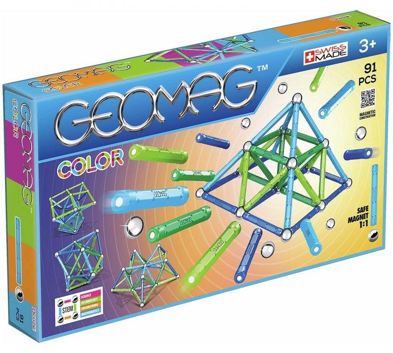 Image of   Geomag Color Magnet Legetøj - 91 Dele