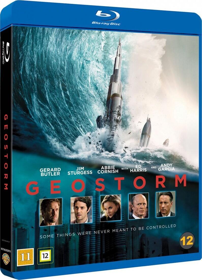 Image of   Geostorm - Blu-Ray