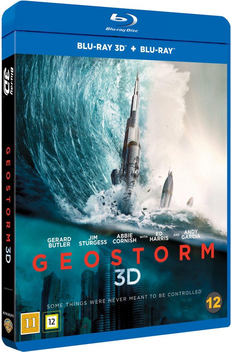 Image of   Geostorm - 3D Blu-Ray