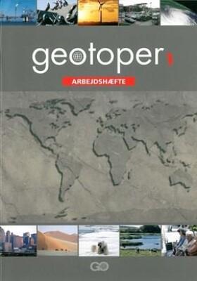 Image of   Geotoper 1 - Arbejdshæfte - Pakke á 25 Stk - Ole B. Clausen - Bog