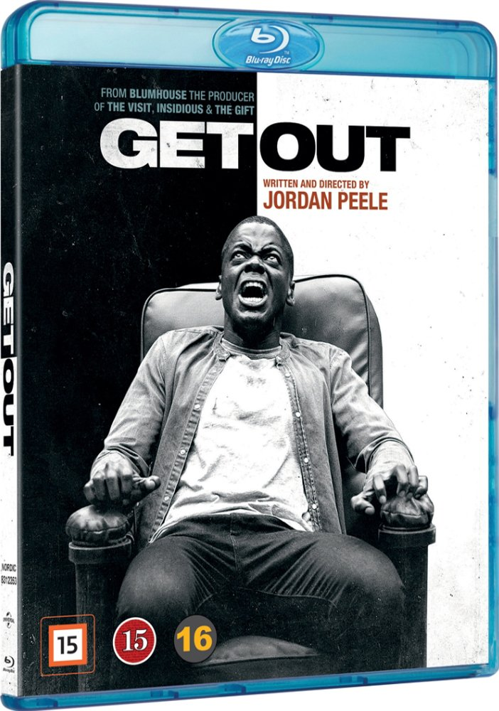 Image of   Get Out - Blu-Ray