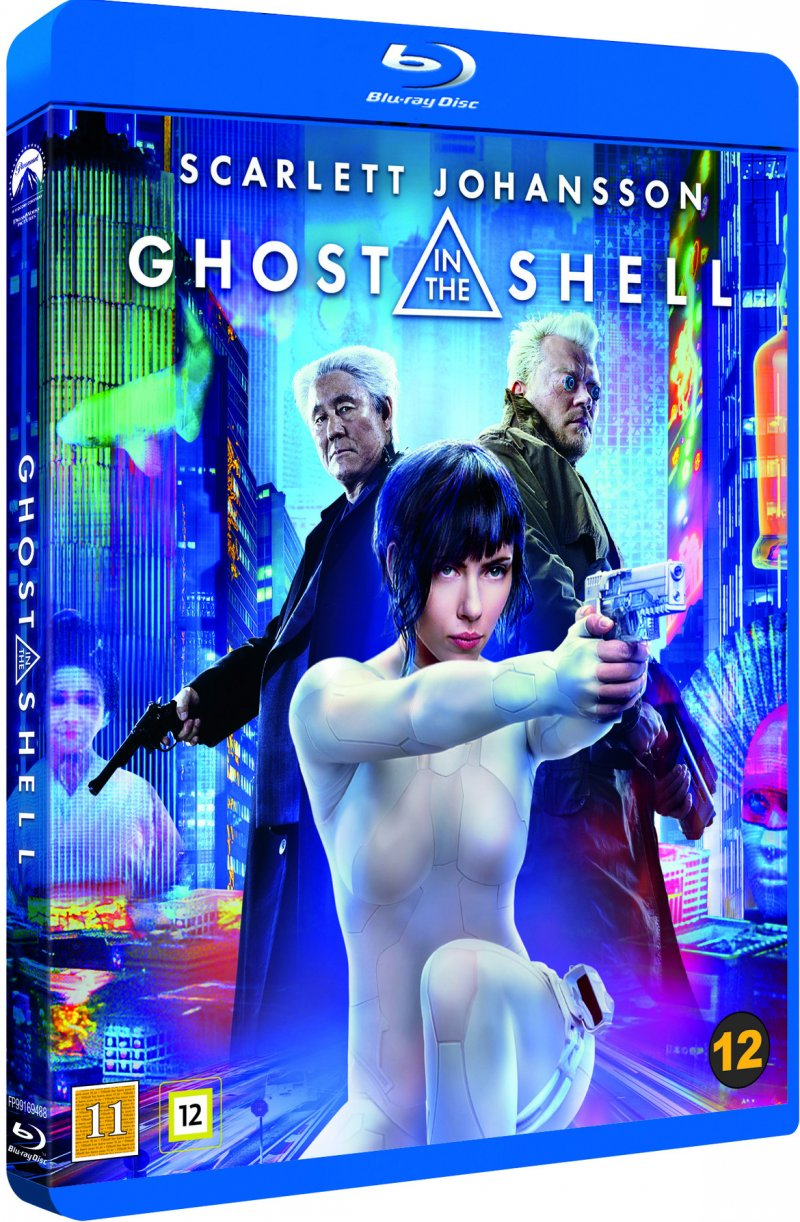 Image of   Ghost In The Shell - Blu-Ray