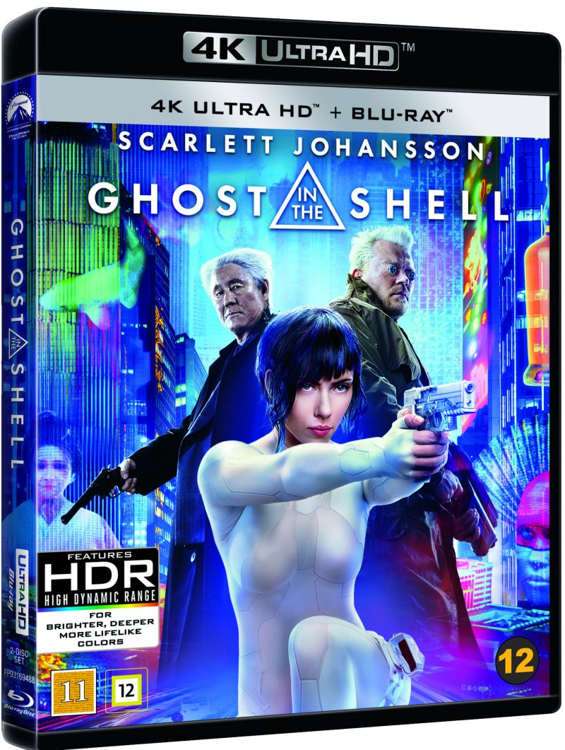 Image of   Ghost In The Shell - 4K Blu-Ray