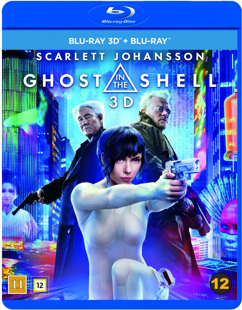 Image of   Ghost In The Shell - 3D Blu-Ray
