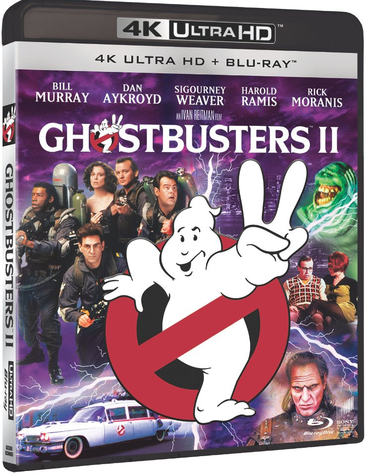 Image of   Ghostbusters 2 - 4K Blu-Ray