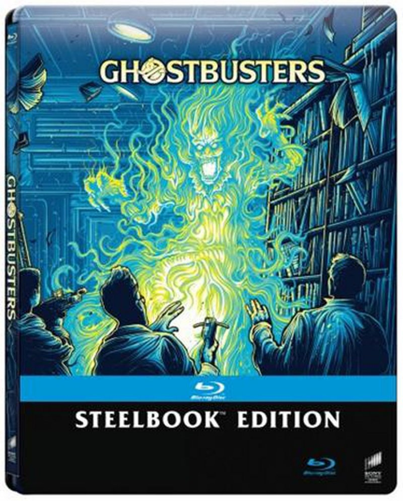 Image of   Ghostbusters - Steelbook - Blu-Ray