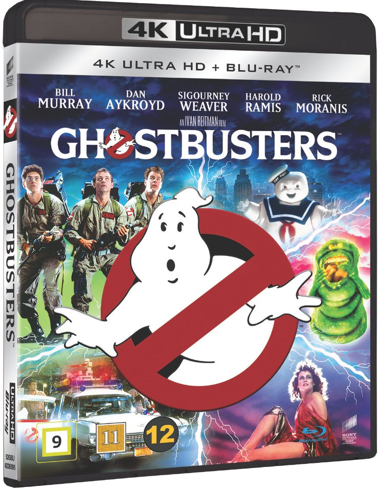 Image of   Ghostbusters - 4K Blu-Ray