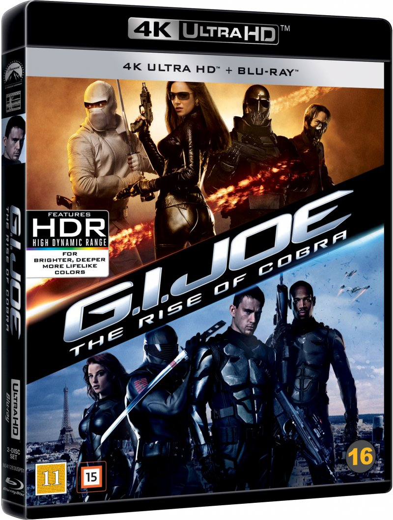 Billede af G.i. Joe 1 - The Rise Of Cobra - 4K Blu-Ray