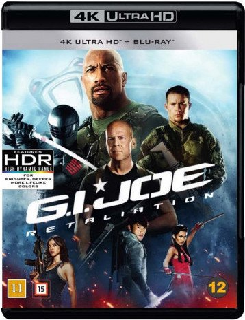 Image of   G.i. Joe: Gengældelsen / G.i. Joe: Retaliation - 4K Blu-Ray