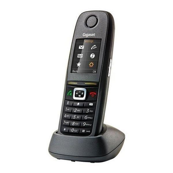 Image of   Gigaset - Trådløs Fastnet Telefon - R 650 H Pro - Sort