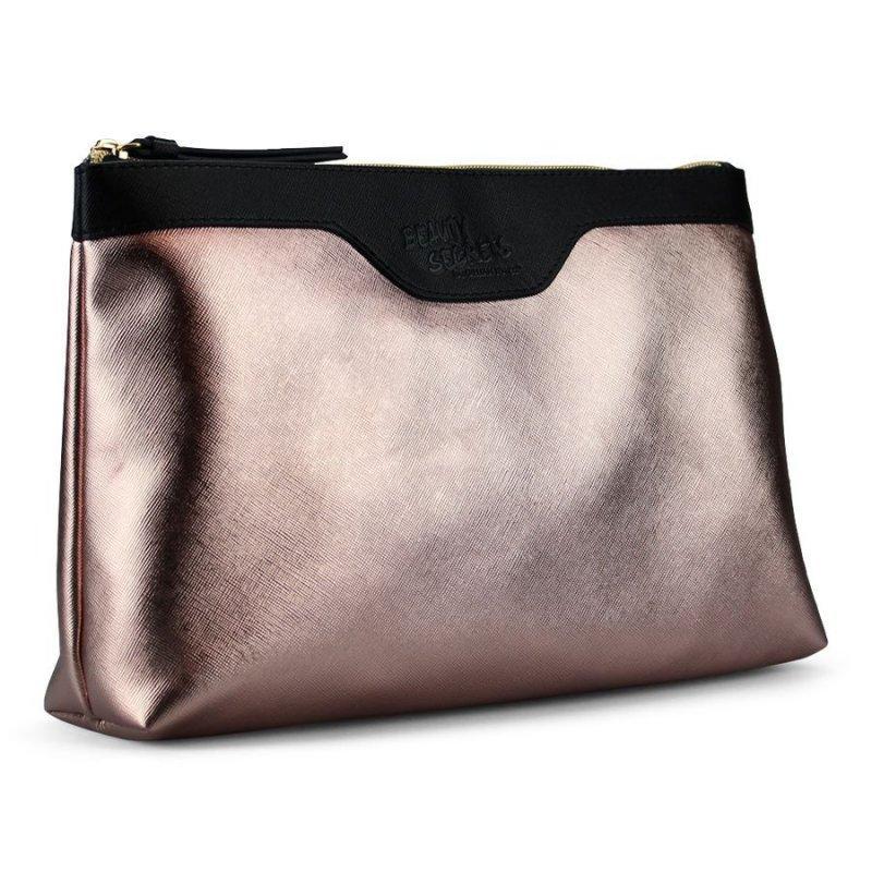 Gillian Jones Toilettaske - Metallic Pink