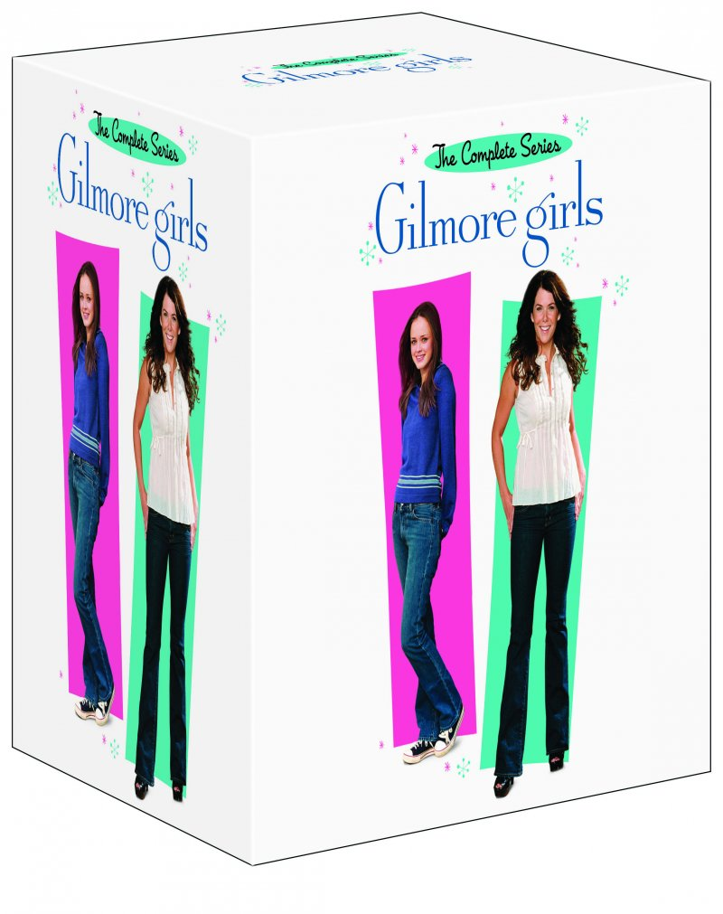 Gilmore Girls - Sæson 1-7 - The Complete Series - DVD - Tv-serie