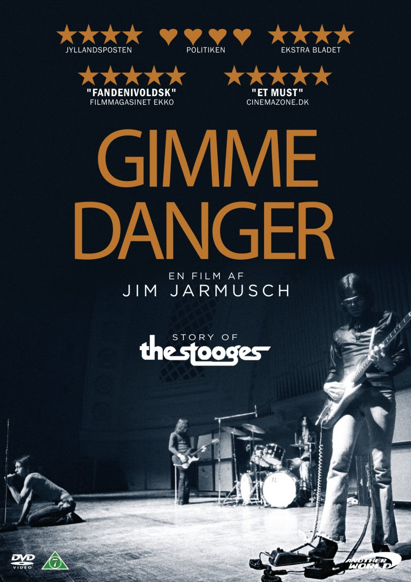 Image of   Gimme Danger - Story Of The Stooges - DVD - Film