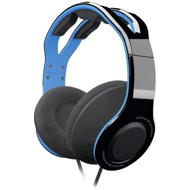 Image of   Gioteck Tx-30 - Stereo Over-ear Gaming Headset Med Kabel - Blå
