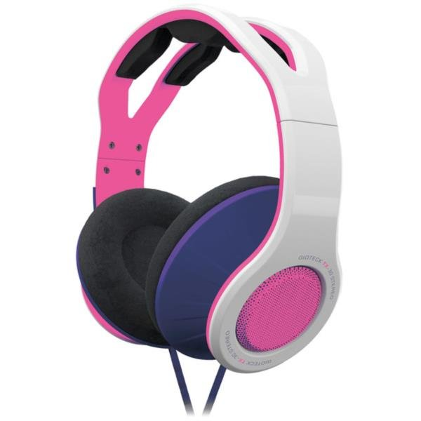 Image of   Gioteck Tx-30 - Stereo Gaming Headset - Hvid Pink