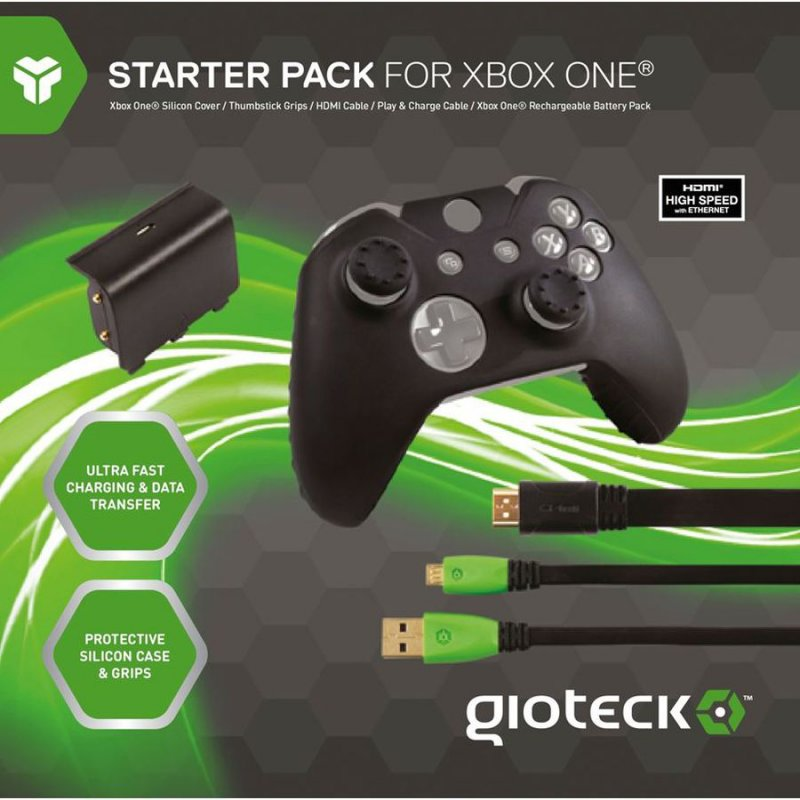 Gioteck Xbox One Controller Tilbehør