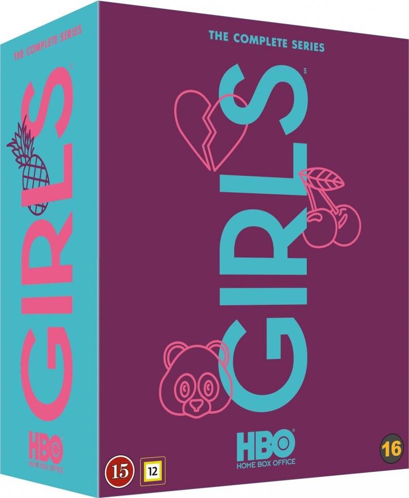 Girls - Sæson 1-6 - Komplet Boks - Hbo - DVD - Tv-serie