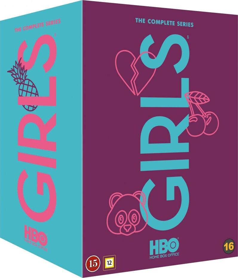 Image of   Girls - Sæson 1-6 - Komplet Boks - Hbo - Blu-Ray - Tv-serie