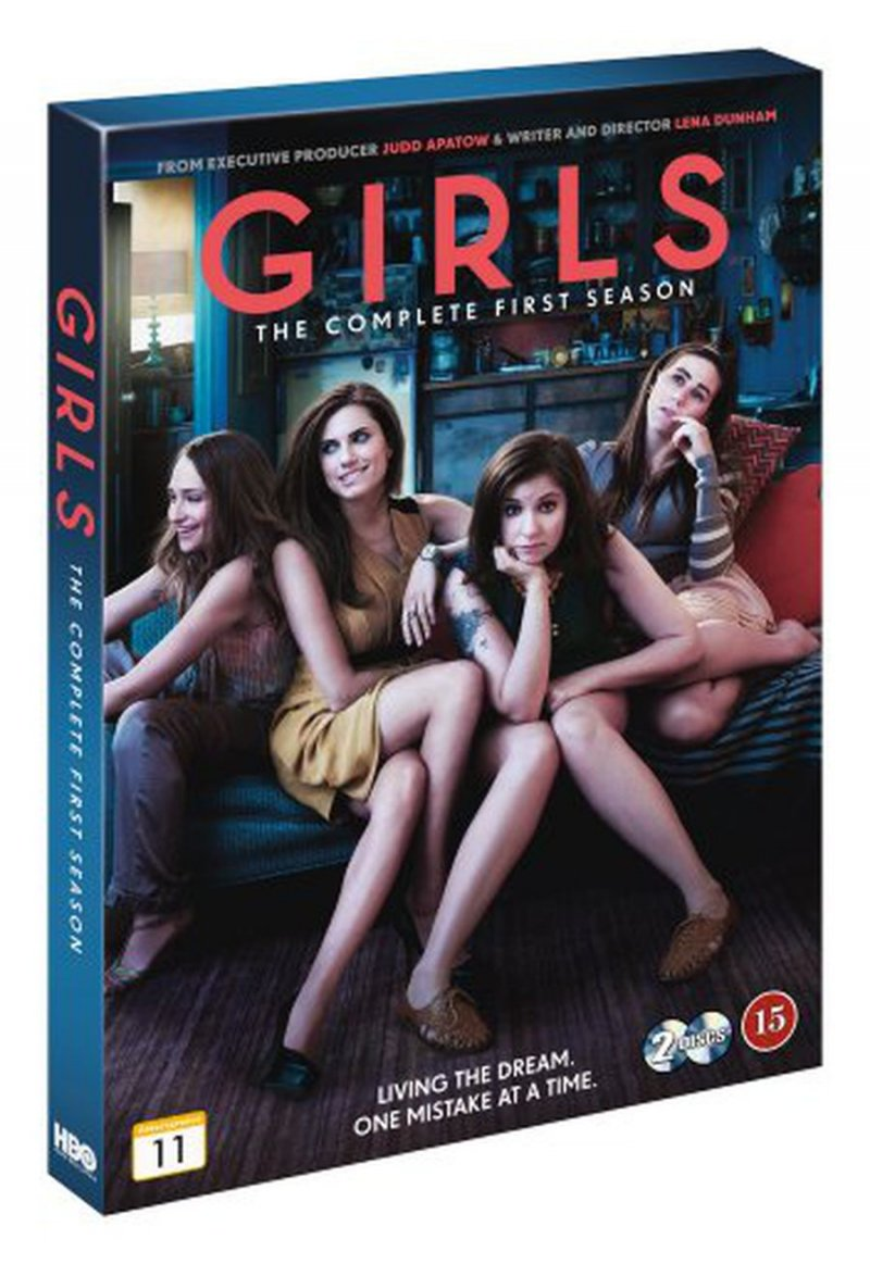 Girls - Sæson 1 - Hbo - Blu-Ray - Tv-serie