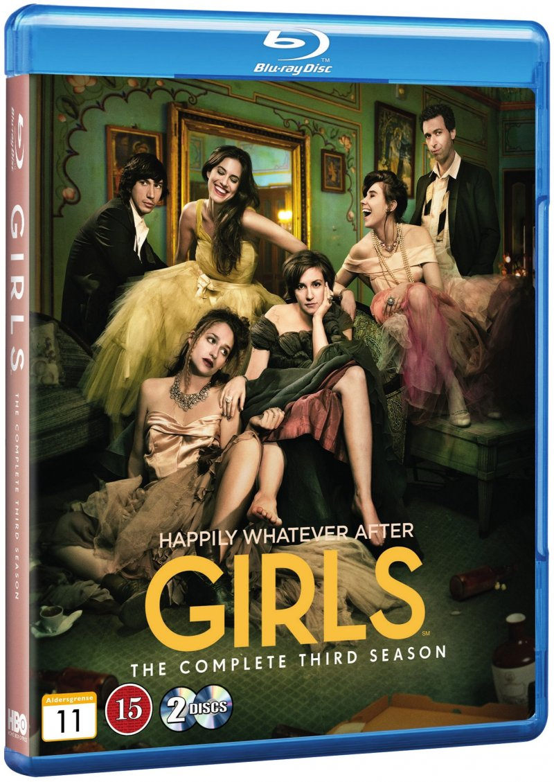 Image of   Girls - Sæson 3 - Hbo - Blu-Ray - Tv-serie