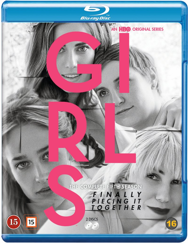 Girls - Sæson 5 - Hbo - Blu-Ray - Tv-serie