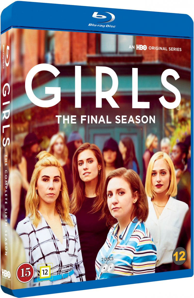 Image of   Girls - Sæson 6 - Hbo - Blu-Ray - Tv-serie