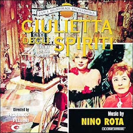 Image of   Giulietta Degli Spiriti Soundtrack - Vinyl / LP
