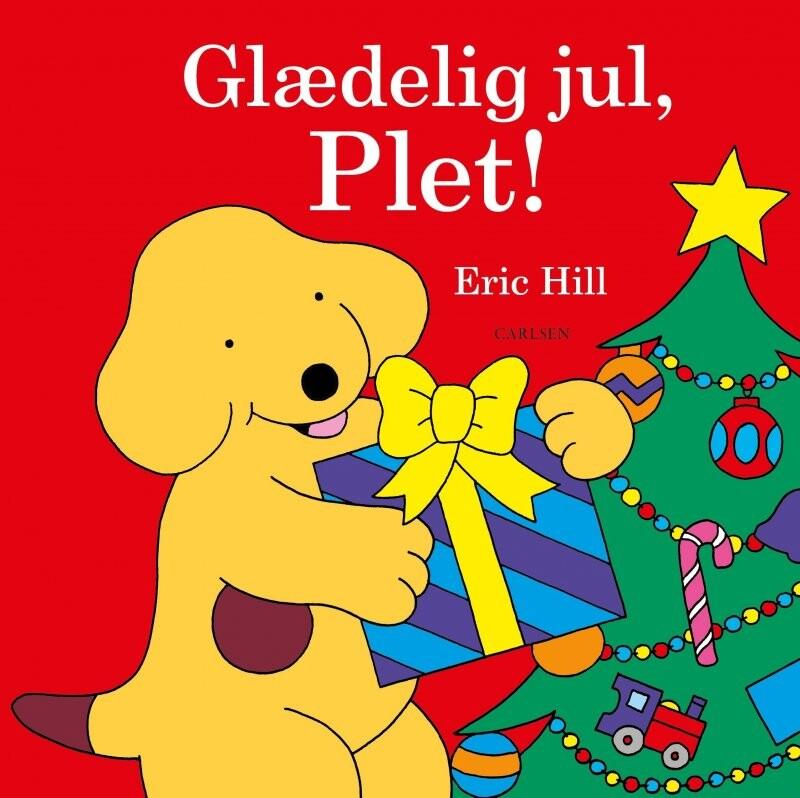 Glædelig Jul, Plet! - Eric Hill - Bog