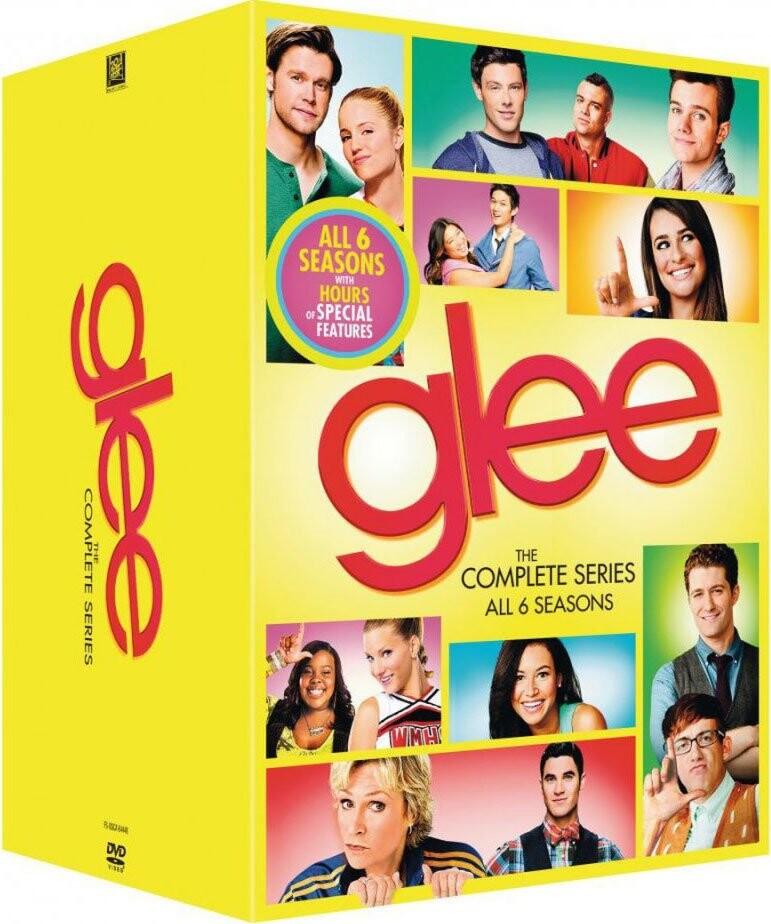 Glee - Sæson 1-6 - DVD - Tv-serie