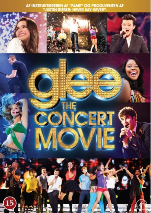 Image of   Glee - The Concert Movie - DVD - Film