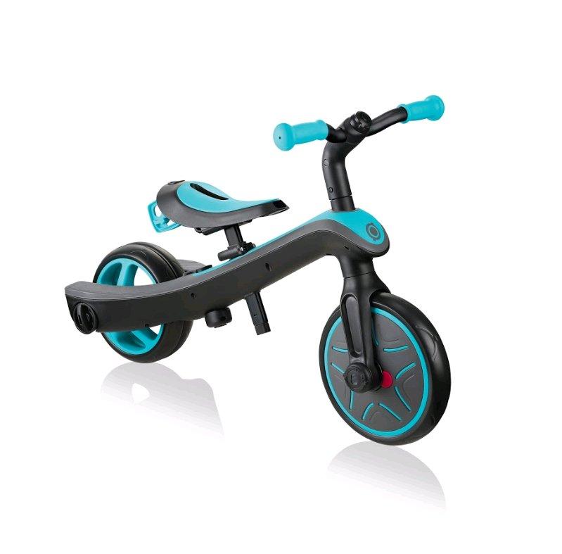 Billede af Globber - 2-i-1 Løbecykel - 2-5 år - Trike Explorer - Blå