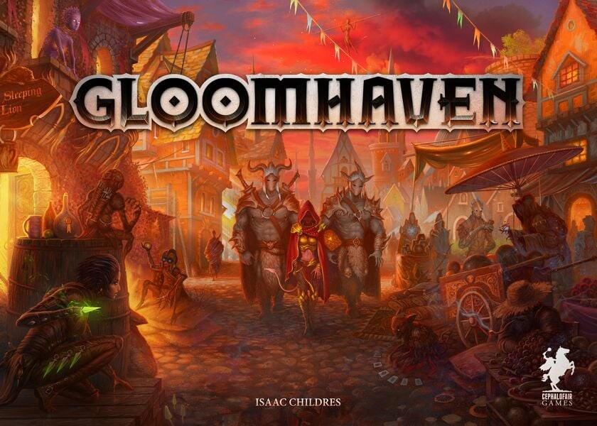 Gloomhaven - Brætspil