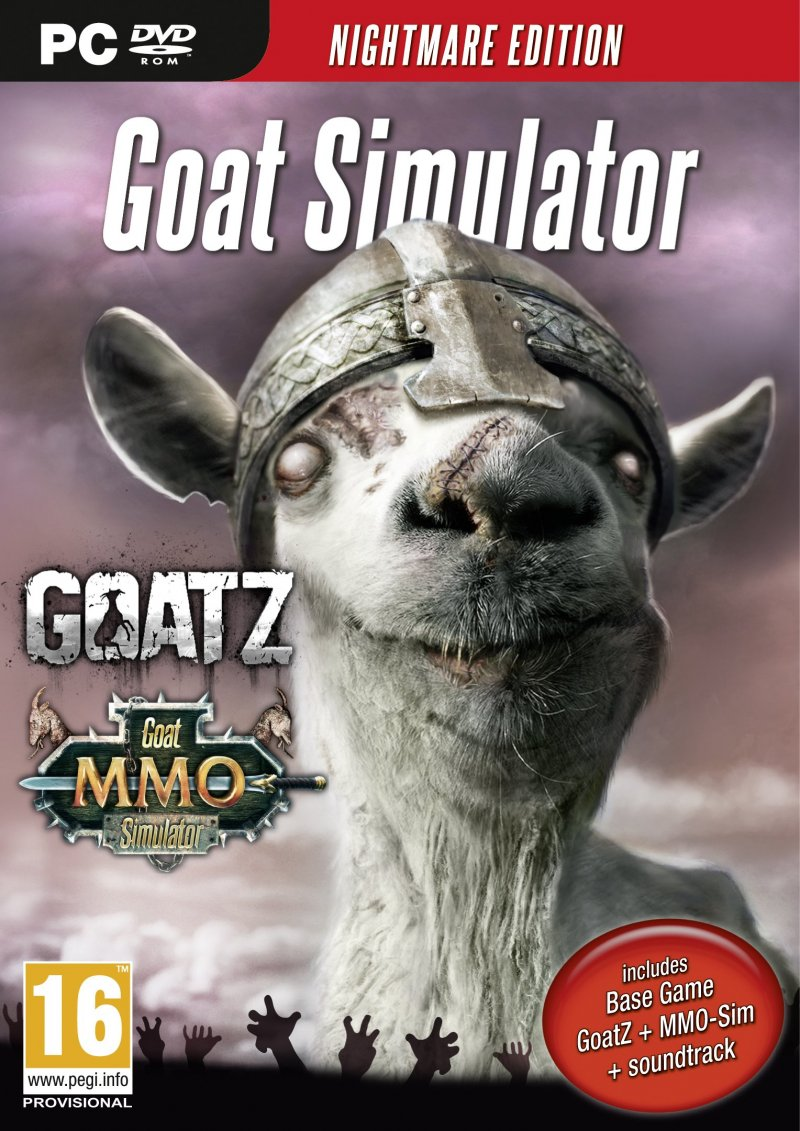 Image of   Goat Simulator: Nightmare Edition - PC