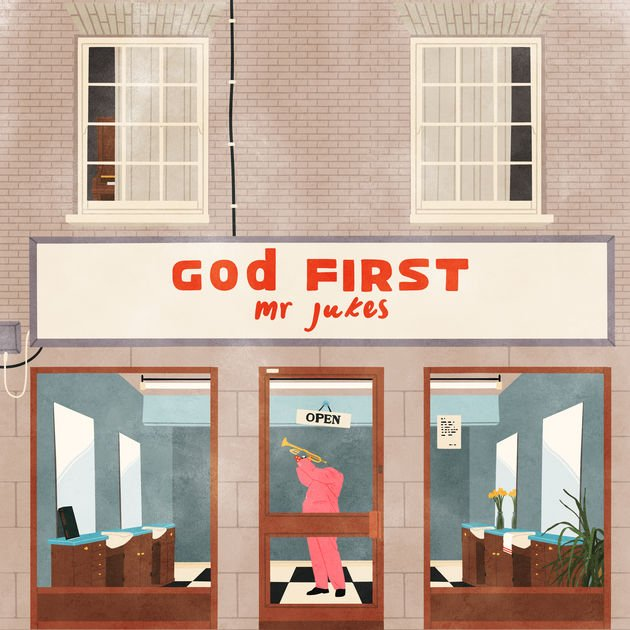 Image of   Mr. Jukes - God First - Vinyl / LP