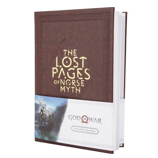 Image of   God Of War Notesbog - The Lost Pages Of Norse Myth