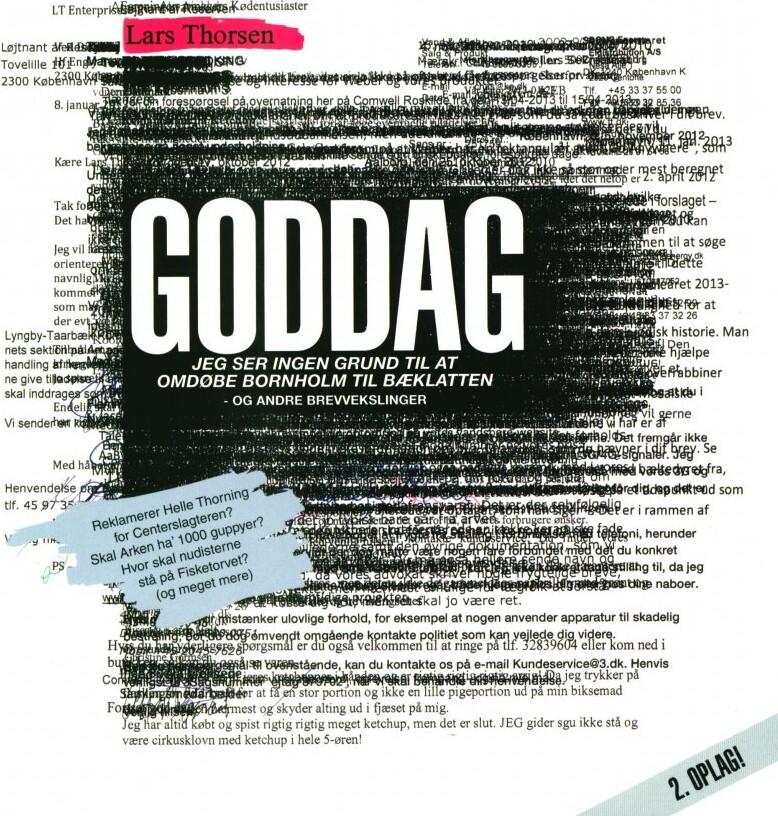 Goddag - Lars Thorsen - Bog