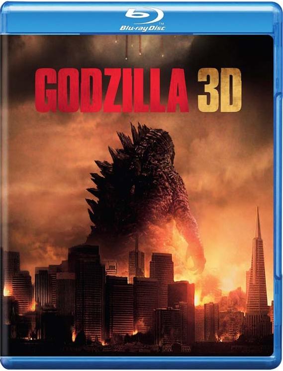 Image of   Godzilla - 2014 - 3D Blu-Ray