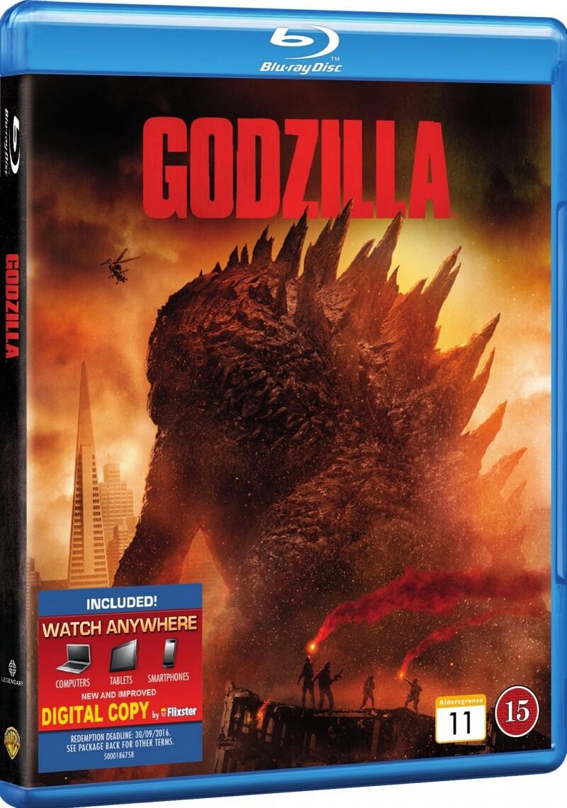 Image of   Godzilla 2014 - Blu-Ray